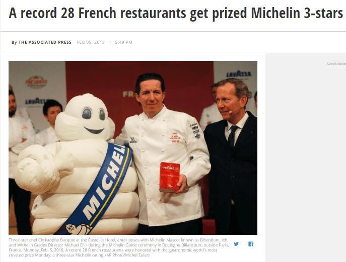 Статья о компании Michelin