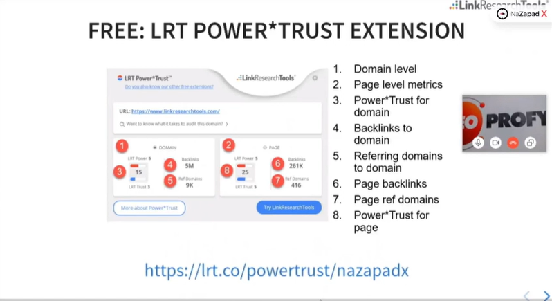 Сервис LRT Power*Trust – PageRank Replacement