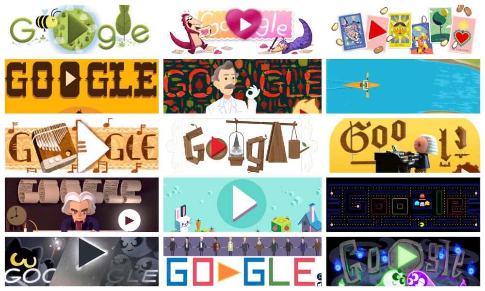 15 популярных дудл-игр от Google